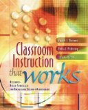 Classroom Instruction that Works: Research-Based S